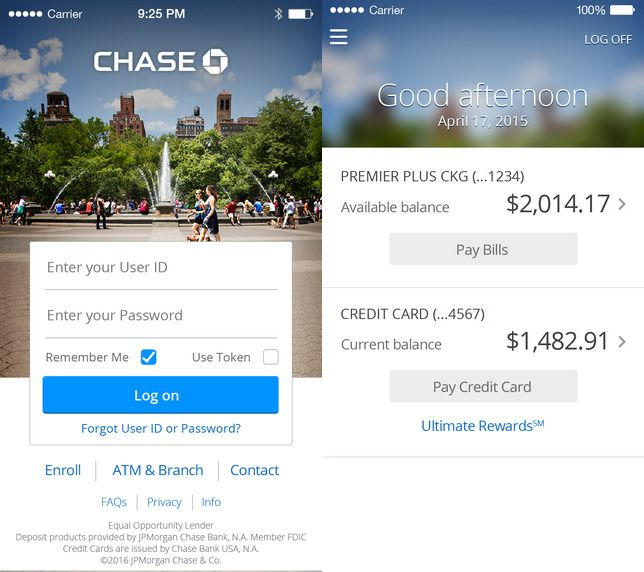 Chase down no-fee ATMs with mobile app | Appolicious mobile apps