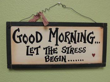 Stress Message Back To School Sign Quotes