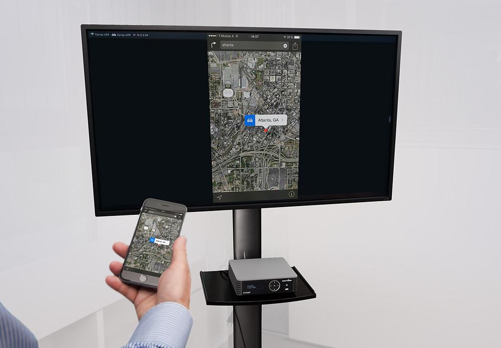 Mirroring and Extending the Phone Screen