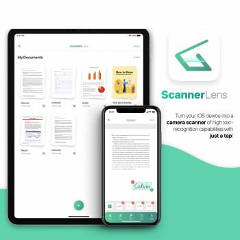 A Camera Scanning App for iOS and iPadOS