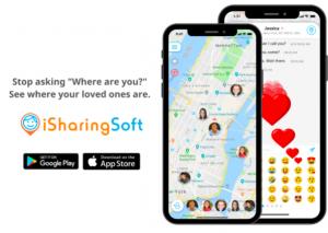 iSharing GPS Location Tracker App