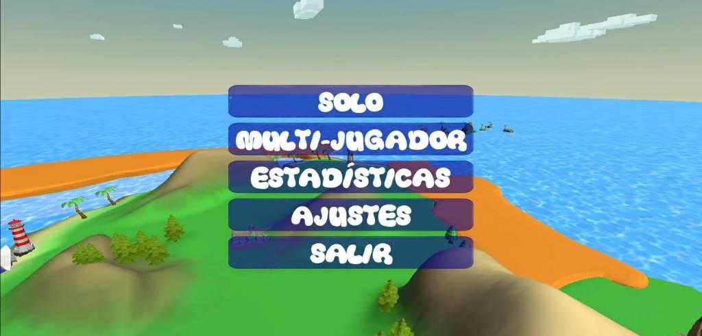 Spanish Quest App solo menu