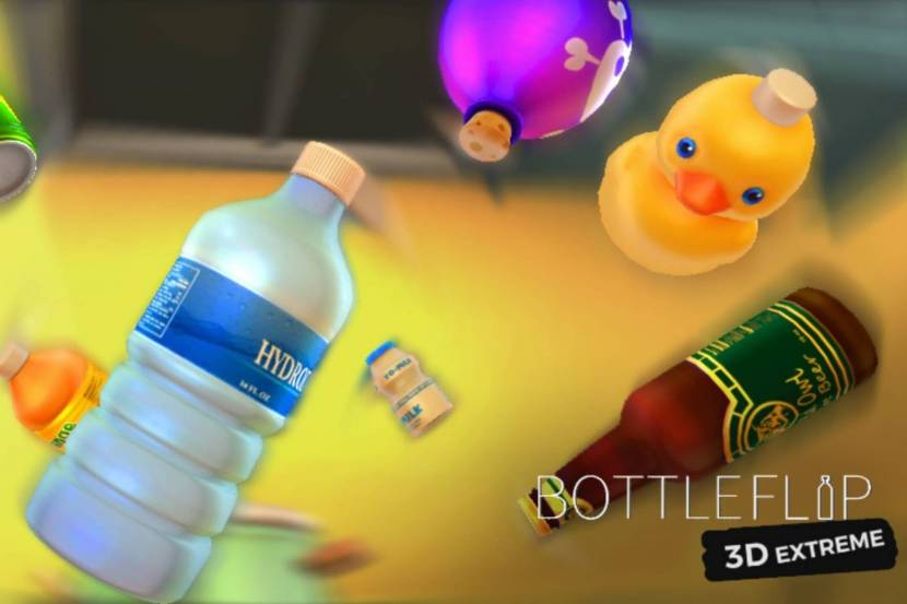 In Bottle Flip 3D Extreme, coins are used to unlock more difficult and fun bottles at the store. The more difficult bottles are harder to land but award more points. There are plenty of bottles to unlock, from glass bottles to soft drink cans, even a soap dispenser!